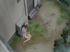 エロアニメ バイブを入れられながら帰宅、そのままお風呂で寝取られる義姉...