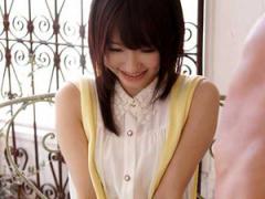 天使の笑顔が可愛すぎる天使もえちゃんが人気AV女優になる前、初めてする...