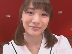 痴女JKのフェラチオ手コキ責めを受けるM男主観アングル動画