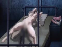 エロアニメ 人妻の性奴隷売買。身動き取れない美女が無理やり中出しされ寝...