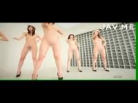 AKBの次はこのユニット!美脚美女達が全裸で踊り、マイクスタンドならぬバ...