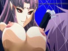 エロアニメ ショタっこ勇者が妖女モンスター娘たちに襲われ逆レイプされま...