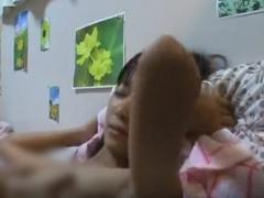 個人撮影 部屋に泊めてあげた家出少女とのセックスの一部始終を撮影した動...