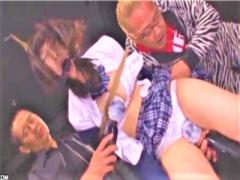 JK拉致監禁 学生服パンチラ緊縛 巨乳美少女女子校生を強力媚薬で無理やり...