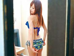 セクシー女優の綺麗なお姉さんを主観レイプ! 更衣室のトイレで強引に犯す! !