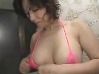 無修正 55歳 五十路でも体はまだまだ若いよ! エロ下着も余裕で着こなしてますw完熟セックス動画