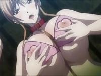 エロアニメ 爆乳美少女たちがおっぱい揺らしてアヘアヘセッ...