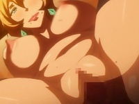 エロアニメ メガネの爆乳お姉さんがキモデブ男のち○ぽでよが...