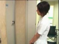 入院患者のセンズリを目撃した看護師のセンズリお手伝い!
