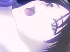 エロアニメ 逆騎乗位濃厚セックスしてアナル肛門杖挿入されて感じる貧乳ち...