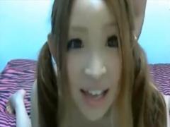 無修正ライブチャット動画 めちゃくちゃ可愛いギャル系美少女彼氏の杭打ち...