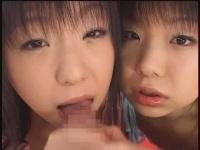 あいりとめいり 双子のダブルフェラ