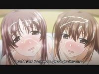 エロアニメ 超かわいい童顔美少女二人組がペニスをペロペロフェラチオしてくれるからお礼に顔射しちゃう件