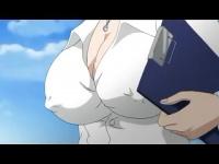エロアニメ ド変態先生がオナニー見られてそのままアナルセックス! ! ザーメンを中出ししまくっちゃう!