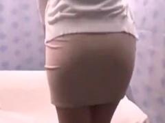 美尻で巨乳でムッチリ人妻素人の筆下ろしセックスバック素股ナンパ動画! ...