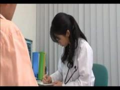 ナース 女医 精液採取のために自分たちのアソコを使って中出しさせて採取する看護婦と女医