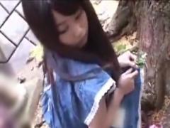 公園で遊んでいる少女を潮吹き手マンレイプ痴漢動画