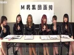 斉藤みゆちゃんがM男を集団脚責めする美脚動画www
