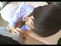 仮性包茎が可愛くて好きだという男好きのする巨乳お姉さんのフェラチオ