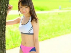 陸上部のS級素人アスリート美少女が初撮りAVデビューで野外プレイ