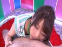 女子大生風のS級AV女優がカメラ目線でバキュームフェラからの~顔射www