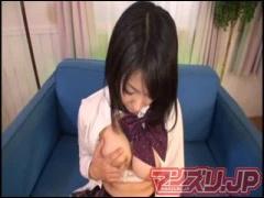 女子校生オナニー 巨乳JK大堀香奈がおまんこパッカーンしてテープで止めて...