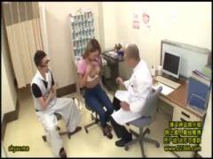 素人ギャル 妊娠検査しに産婦人科に来た黒ギャルに、検診台で媚薬を盛って...