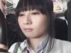 玉木純子 清純系なニーハイJKをバスでレイプ痴漢動画