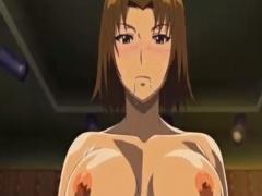 エロアニメ 巨乳なスレンダー美女とギャル男が激しいセックス