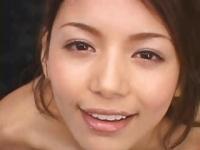 可愛いRio の顔に精子をぶっかける動画