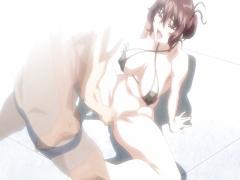エロアニメ 豊満爆乳美女がマジイキして潮吹きしまくり! いやらしすぎる二次エロ極み!