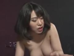 巨乳痴女のペニバンやアナルフィストファックでメスイキさせられるM男動画