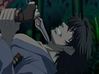 エロアニメ 激カワショートヘアのくノ一が敵に捕まり口とマンコを同時に犯...