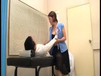 保険室の巨乳先生にボクのチン○ンを診察してもらった!