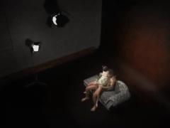 見知らぬ世界に迷い込んで陵辱される少女の3Dエロアニメ