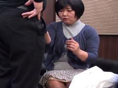 熟女風俗 素人主婦がデリヘル面接で実技講習でフェラ抜きさせられる