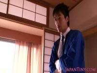 淫華温泉でアルバイトする着物JKがセクハラされてハーレム逆レイプ!