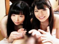 貧乏学生の家に突撃訪問! 自宅であの女優二人が濃厚奉仕してくれる夢のよ...