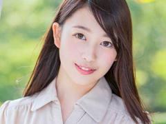 つぶらな瞳が魅力的な黒髪清楚なスレンダー美女の三田杏ちゃんが恥じらいS...