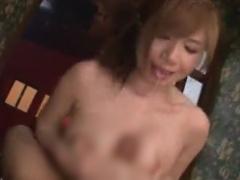 パイズリ 巨乳の、千乃あずみのパイズリプレイ動画!
