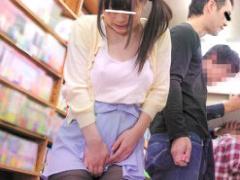 書店にいたウブそうな娘に媚薬付きのバイブをぶち込んで鬼畜中出しレイプ! !