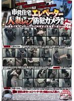 市営住宅エレベーター人妻レイプ防犯カメラ映像