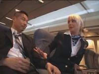 旅客手扱  外国人CAにハンドサービスしてもらおう!