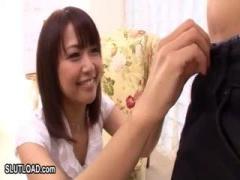 早漏改善 激カワ女優Maikaがすぐイキそうになる早漏の素人...