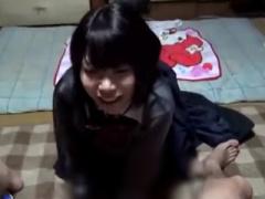個人撮影 JK 円光 完全にヤバいやつ 素朴な女子校生との円光を撮影した生...