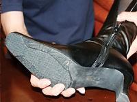 貴方のブーツとパンスト脱がします。 Vol.02