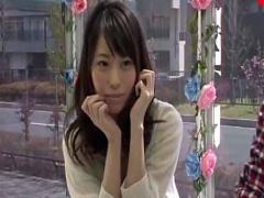 マジックミラー号 激カワ女子大生が外が丸見えのマジックミラー張りの車内...