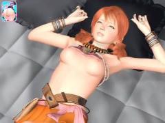 FF13のヴァニラが拘束陵辱レイプされる3Dエロアニメ