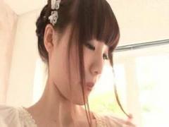 S級女優 鈴村あいりちゃんが全身泡まみれの着エロ披露 こんな可愛い子が物欲しそな目で見てきたら、一緒にオフ...