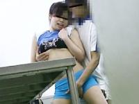 合宿所大盗撮 某女子体育大学生のハレンチ映像
